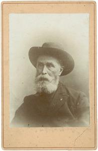 Portret van Heinrich Witte (1829-1917)