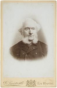 Portret van Gerlach Cornelis Joannes van Reenen (1818-1893)