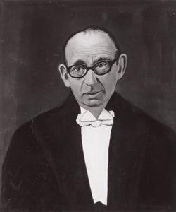 Portret van Leendert Hendrikus Jansen (1916-1977)