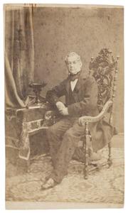 Portret van Frederik baron van Hogendorp (1802-1872)
