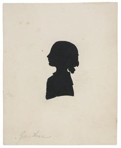 Portret van een meisje, waarschijnlijk Justine Christine van Meurs (1816-1896)