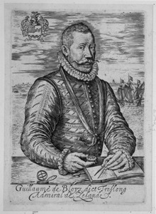 Portret van Willem Bloys van Treslong (1529-1594)