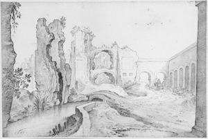 Ruïnes van de thermen van Titus te Rome
