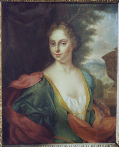 Portret van Elisabeth Prauwels de Couvin (1709-1784)