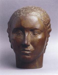 Portret van Wil Visser (1903-1991)