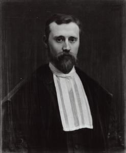 Portret van Friedrich Adalbert Salzer (1858-1893)