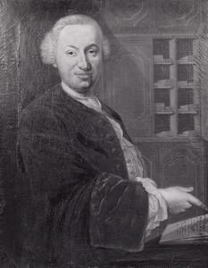 Portret van Jan van Leeuwen (1717-1797)