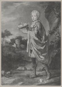 Portret van Friedrich I van Pruisen (1657-1713) als kind