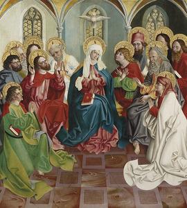 De neerdaling van de Heilig Geest (Pinksteren)