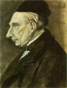 Portret van Vincent Ferdinand Jacob van Gogh (1789-1874)