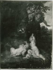 De ontdekking van Romulus en Remus