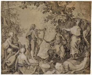 De wedstrijd tussen Apollo en Marsyas