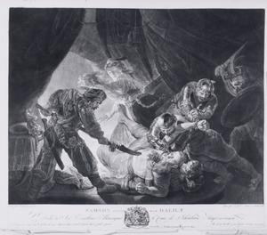 'Samson trahi par Dalila'