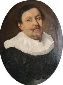 Portret van koopman en directeur van de V.O.C., Johan Braëm (1595-1646)