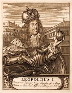 Leopold I (1640-1705) gekroond als keizer van het Heilige Roomse Rijk