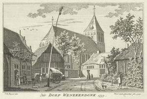 Het dorp Winnekendonk bij Kevelaer