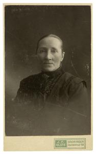 Portret van Freerktje Hazenberg (1851-1926)