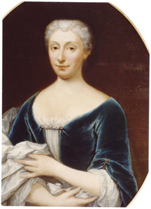 Portret van Catharina Maria Clement (1697-1738)