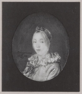 Portret van een vrouw, mogelijk Jkvr. Madelon Sophie Elisabeth Berg (1757-1842)