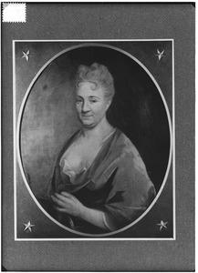 Portret van Clara Adriana van Ommeren (1668-1722)