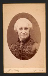 Portret van van Hall