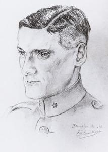 Portret van Maurits Arent van den Wall Bake (1917-2003)