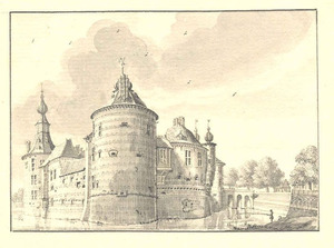 Kasteel Batenburg in Wychen