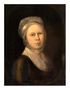 Portret van Petronella Jacoba Mortier (....-1835)