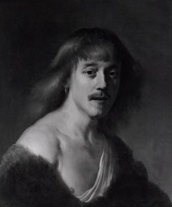 Portret van een man als herder