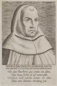 Portret van Petrus de Backere (1517-1601)