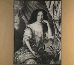Portret van Gertrude Maria von Cloots, echtgenote van Adriaen Joan Cloeting van Westenappel