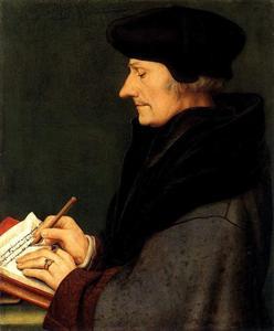 Portret van Desiderius Erasmus (1466-1536)