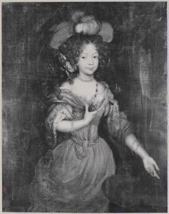 Portret van waarschijnlijk Marie Eleonore van Anhalt -Dessau (1671-1756)