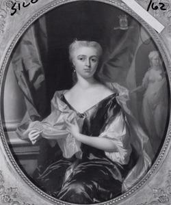 Portret van Johanna Maria de la Palma de St. Fuentes ( -1736)