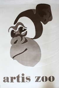 Artis-Affiche:  Artis Zoo, chimpansee