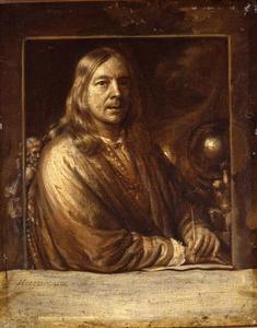 Zelfportret van Samuel van Hoogstraten (1627-1678)