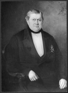 Portret van Pieter van Akerlaken (1792-1862)