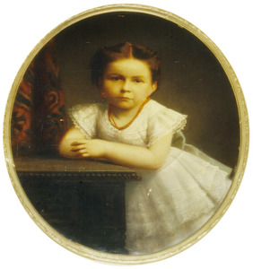 Portret van Maria Elisabeth Adriana Franke (1871-1877)