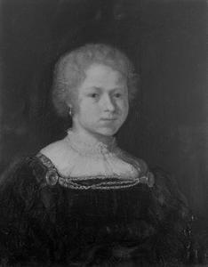 Portret van een dienstmeisje