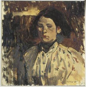 Portret van Geesje Kwak (1877-1899)