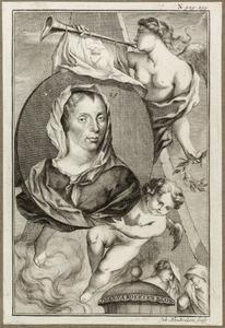 Portret van Johanna Koerten (1650-1715)