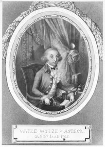 Portret van Watze Wytzes van Asbeck (1758-1823)