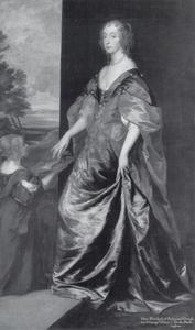Portret van Mary Villiers, Lady Herbert, later Duchess of Lennox and Richmond (1622-1685) met haar bediende, Anne Sheppard, Mrs. Gibson (?-?)