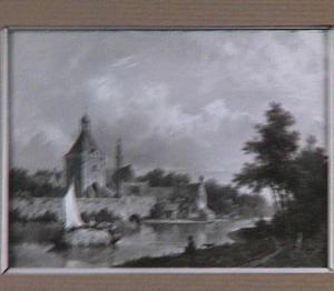 Stad aan de rivier
