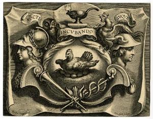 Vignet voor D. Van Mauden, Speculum Aureum Vitae Moralis, Antwerpen 1631