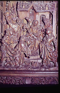 Huisaltaar met de aanbidding der Wijzen