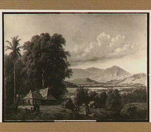 Landschap met kampong