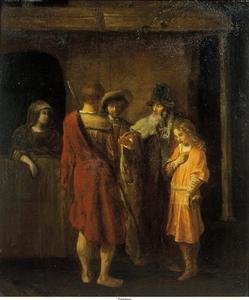 Het afscheid van Benjamin (Genesis 43:13)