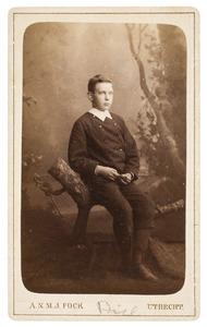 Portret van een jongen, waarschijnlijk Petrus Hofstede de Groot (1870-1849)