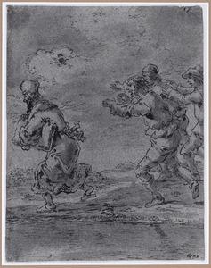 Echtgenoten achtervolgen een arts (Suenos 1641, boek III, zesde droom)
